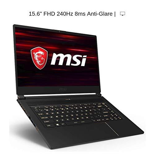 "HIDevolution MSI GS65 9SF Stealth 15.6"" FHD 240Hz, i7-9750H, RTX 2070 Max-Q, 32GB 2666MHz RAM, PCIe 1TB SSD"