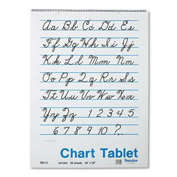 Pacon® Chart Tablets PAD,CHART24X32,25SH (Pack of15)