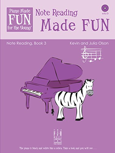 Book Reading Note (Piano Made FUN for the Young Note Reading Book 3)