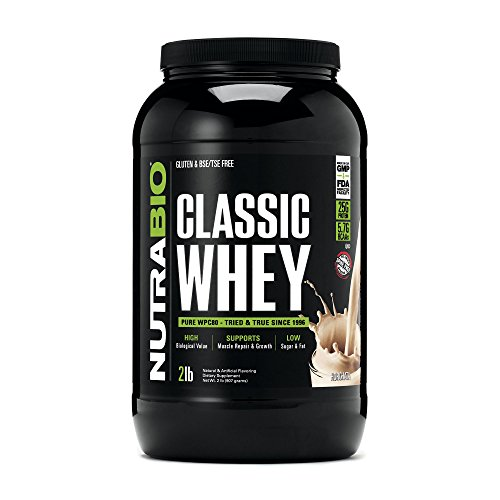 NutraBio Classic Whey Protein – Horchata 2 lbs.