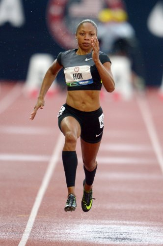 Allyson Felix Olympic Athlete Womens Track And Field Photo Poster 11X17  2