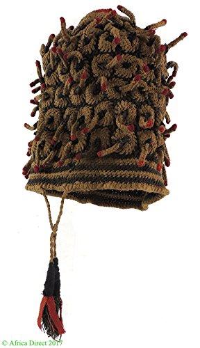 Bamileke Hat Small Fingerlings Woven Cameroon African Art