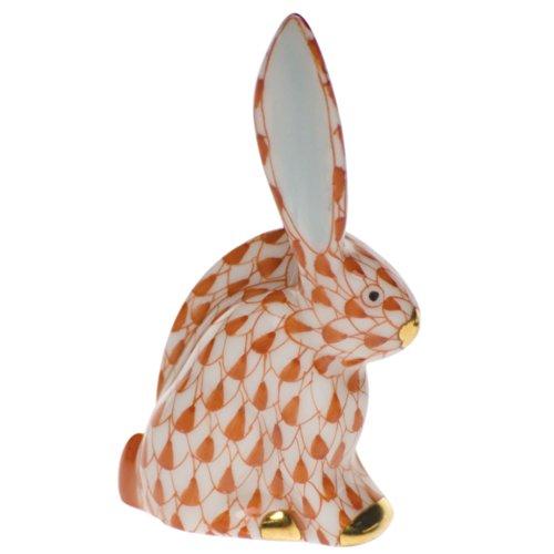 Herend Rabbit Miniature Rust Fishnet ()
