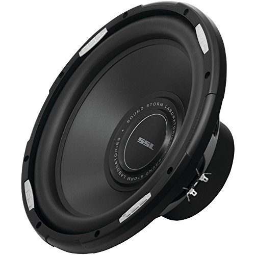 SOUNDSTORM GSW12D GSW Series Dual 4? Voice-Coil Subwoofer with Polypropylene Cone (12