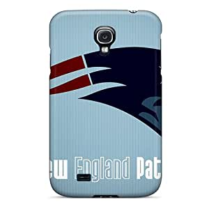 Best Hard Cell-phone Cases For Samsung Galaxy S4 (sNf13290LSlK) Allow Personal Design Nice New England Patriots Pattern