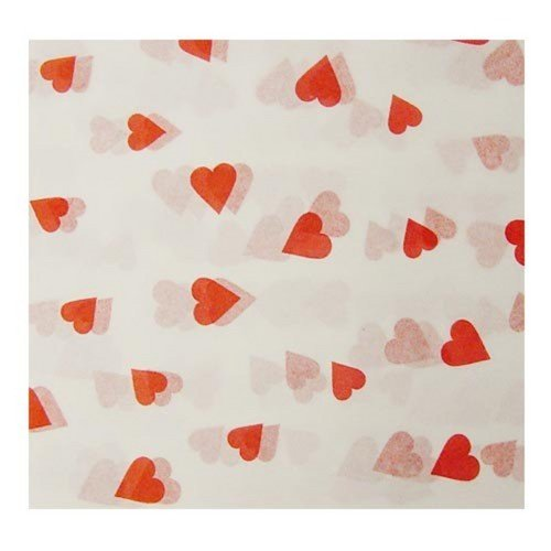 Tissue Heart (Red Hearts Tissue Paper (4 sheets - 20in. X 26in.))