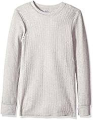 Fruit of the Loom Mens Classics Midweight Thermal Crew Top Thermal Underwear Top