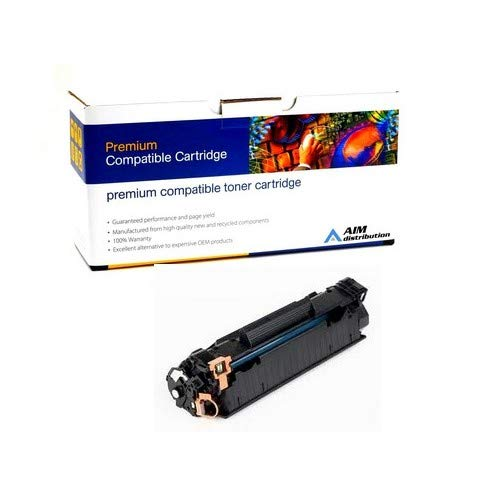 AIM Compatible Replacement for HP Laserjet Pro M1100/1200/P1100 Toner Cartridge (1600 Page Yield) (NO. 85A) (CE285AC) - Generic ()
