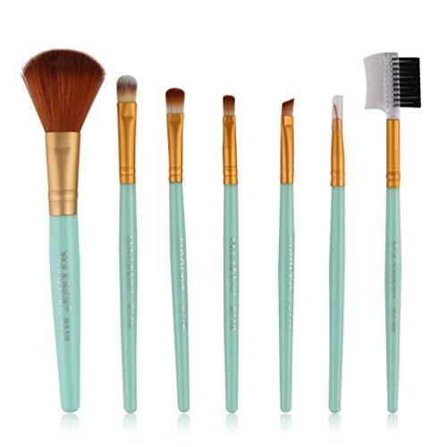 Gotd 7pcs Makeup Cosmetic Brushes Eyeshadow Eye Shadow Foundation Blending Brush - Each Plaid Sham