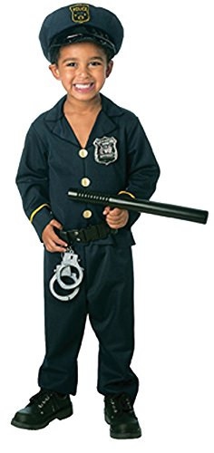 [UHC Boy's Uniforms Cop Jr. Policeman Officer Toddler Fancy Dress Child Costume, 2T] (Policeman Uniform)