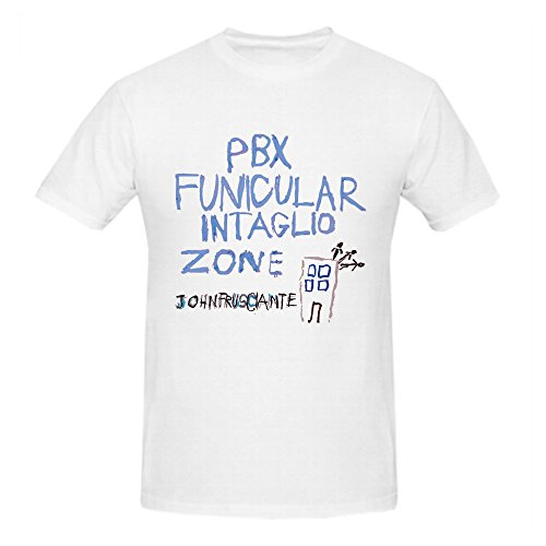 John Frusciante Pbx Funicular Intaglio Funny Tee Shirts For Men White
