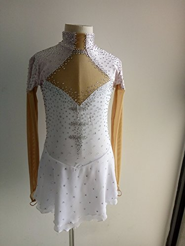 Custom Made Figure Skating Costumes (Fashion Custom Figure Skating Dresses Girls Ice Skating Competition Dresses With Crystals A2253)