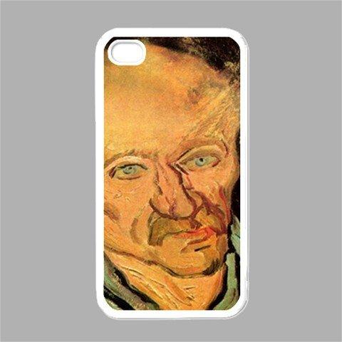Portrait Of A Patient In Saint Paul Hospital By Vincent Van Gogh White Iphone 4 - Iphone 4s Case ()