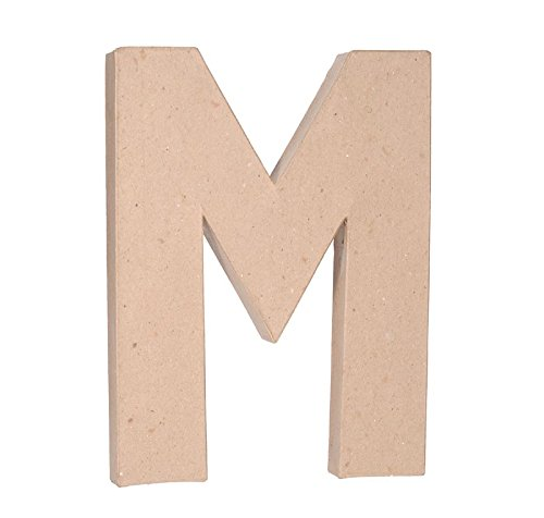 Darice 2861M Paper Mache Letter 12Inx15In