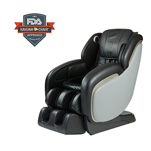 Best Performance L-Track Shiatsu Kahuna Massage Chair LM-7800 - BLACK