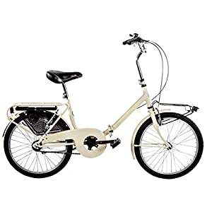 "41MSTLY djL. SS300 Cicli Puzone Bici 20"" Pieghevole GRAZIELLA Art. GRZ20"
