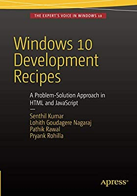Amazon com: Windows 10 Development Recipes: A Problem-Solution