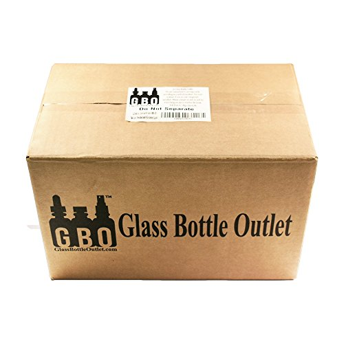 (24 Pack) 5 oz. Clear Glass Hot Sauce Bottle with Black Cap + Shrink band and Orifice Reducer (24/400) by GBO GLASSBOTTLEOUTLET.COM (Image #8)
