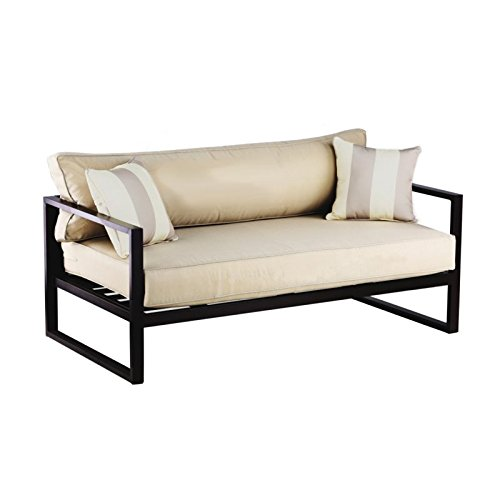 Catalina Outdoor Sofa (Serta Catalina Outdoor Sofa, Bronze)