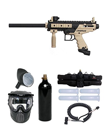 (Tippmann Cronus Paintball Marker Gun -Basic Edition- Tan Prime Package)