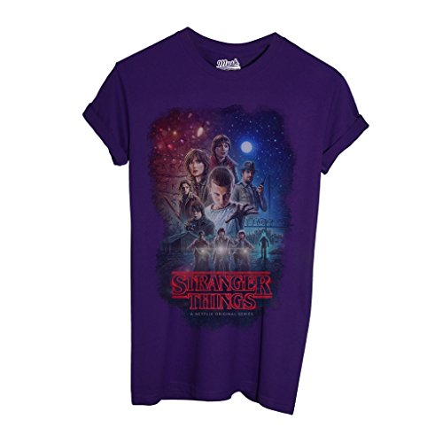 By Characters Dress Stranger T Your Things Mush Viola Film shirt Style qwnXtRPt6