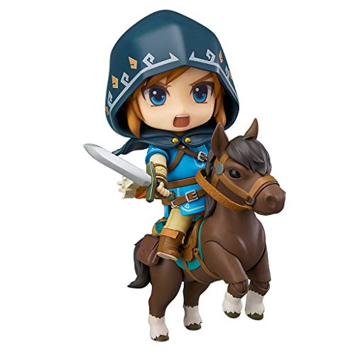 Yang baby The Legend of Zelda: Breath of The Wild: Link (Deluxe Version) Nendoroid (Breath Of The Wild Real Action Hero)