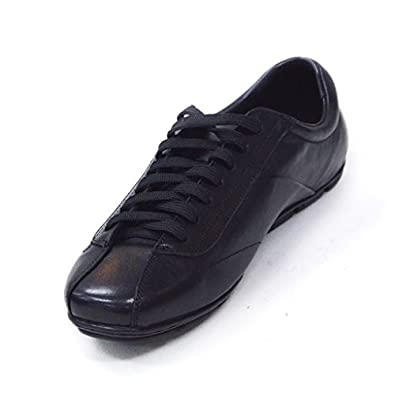 durable service Nancy Jayjii Lace-up Genuine Leather Shoes for Men Comfortable Outdoor Sneakers Casual