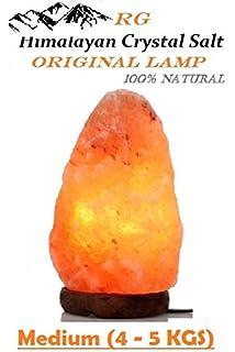 Buy Natural Himalayan Rock salt lamp for healing benefits and also ...