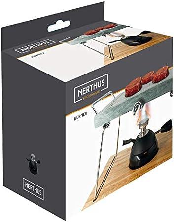 NERTHUS FIH 385 - Quemador de gas, Unico, Negro