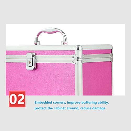 HLD メイクアップツールボックス美容ボックスウォッチジュエリーボックスコレクションアルミボックス ツールボックス