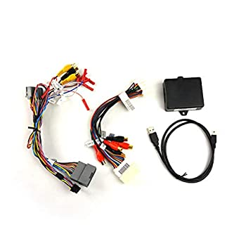 Image of Brandmotion 9002-2782V2 Dual Camera Interface for 6.1' MyGig Display Radios in Select Jeep, Dodge & Chrysler Vehicles Auxiliary Input Adapters