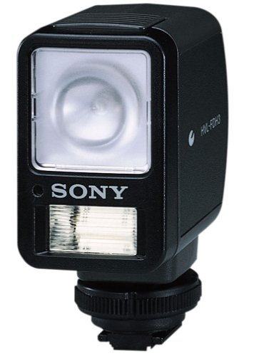 Sony HVLFDH3 Video Light and Flash with Rotating Head (DCRPC101 and DCRPC105 Camcorders)