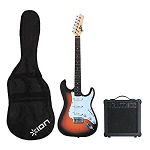 ion igp03c electric guitar kit with gig bag musical instruments. Black Bedroom Furniture Sets. Home Design Ideas