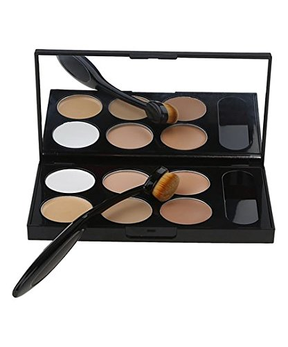 color corrector concealers with 2 free oval brushes gal laden