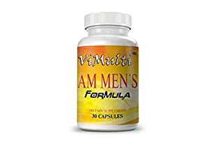 Vimulti Testosterone Booster and Nitric Oxide Supplements for Men. Natural Testosterone Booster Will Boost Nitric Oxide, Libido, Performance, Sex Drive and Lean Muscle MASS