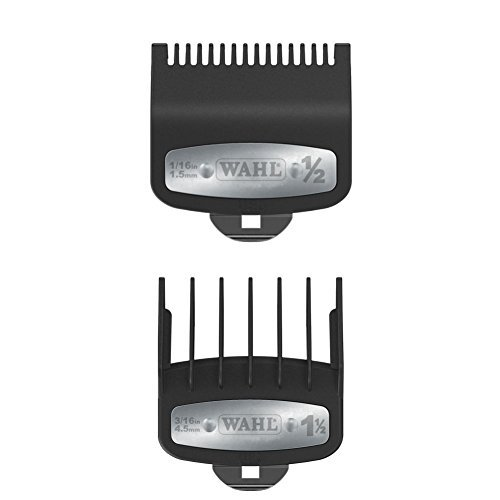 Wahl Professional Premium Cutting Guide with Metal Clip 1/2'' &1 1/2'' Combo Set