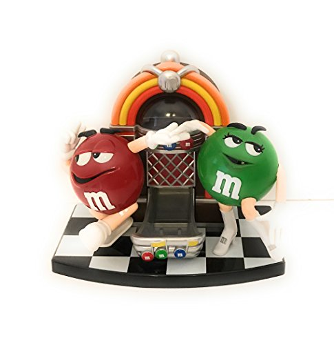 M&M's Toy Jukebox Candy Dispenser Green + Red M & M ()