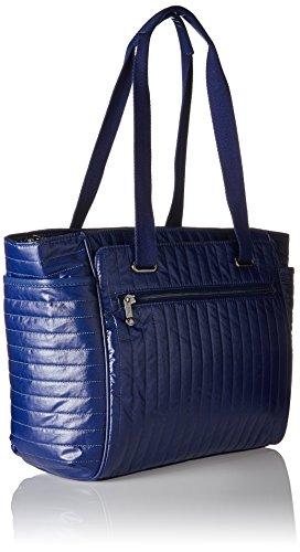 Kipling Orinthia - Bolsos totes Mujer Azul (Shiny Blue)
