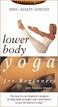Amazon.com: Lower Body Yoga for Beginners [VHS]: Suzanne ...