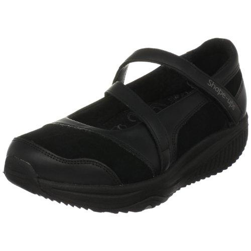 Skechers Women's Shape Ups XW Hyperactive Sneaker,Black,8.5 M - Ups Shape Black