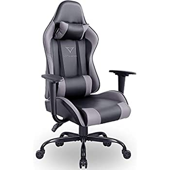 Amazon.com: Vitesse Gaming Chair Racing Style High-Back PC Chair ...