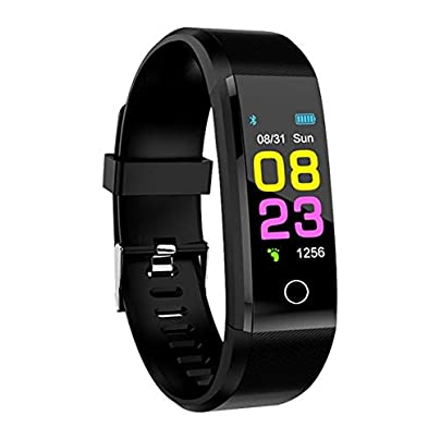 DMMDHR Smart Wristband Smart Bracelet Blood Pressure Fitness Sport Smartband Heart Rate Monitor Bracelet Sport Climbing Estimated Price £28.98 -