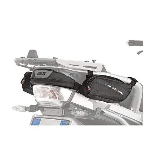 COMPATIBILE CON BMW R 1250 GS 2019 19 BORSELLO CENTRALE POSTERIORE MOTO GIVI XS315 BORSETTA PER PORTAPACCHI 2 BORSE PORTA ATTREZZI LATERALI DA FISSARE CON CINGHIE NERO