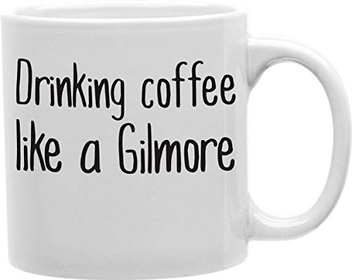 Imaginarium Goods CMG11-EDM-GILMORE Everyday Mug - Drinking Coffee Like a Gilmore from Imaginarium Goods Co.
