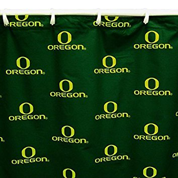 College Covers Shower Curtain Cover, 70'' x 72'', Oregon Ducks by College Covers