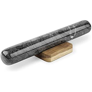 Amazon Com Flexzion Marble French Rolling Pin 11 Inch
