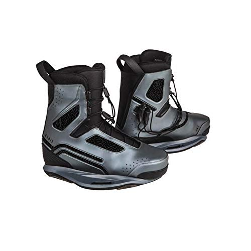 Ronix Wakeboard Bindings One Boot - Space Craft Grey - Intuition - 10 (2019)