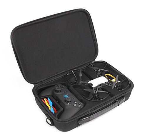 HUL Drone Case for DJI Tello and GameSir T1d Controller - Water-Proof and Impact Resistant