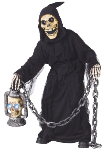 Big Boys' Grave Ghoul Costume - M