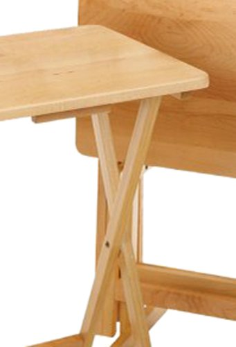 Winsome Wood 42520 Alex Snack Table Natural Set 5 Pc